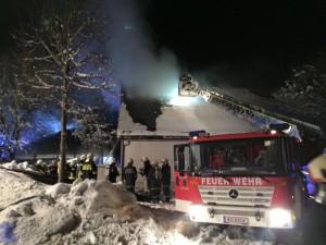 Brandeinsatz Klaffer (3)